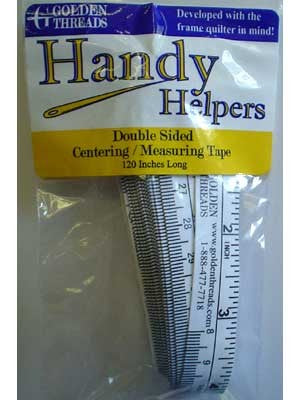 Double-Side Centering Tape & Measuring Tape, 120