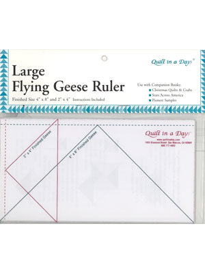 Large Flying Geese Ruler