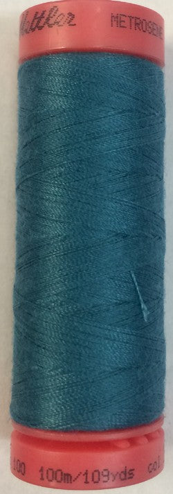 Mettler Metrosene Polyester Thread, Color #1472 Caribbean