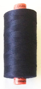 Mettler Metrosene Polyester Thread 1000m, Color #0827 (792) Dark Blue