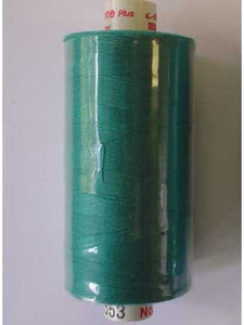 Mettler Metrosene Polyester Thread 1000m, Color #0222 (553) Green