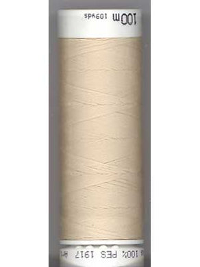Mettler Metrosene Polyester Thread, Color #3000 (584) Candlewick