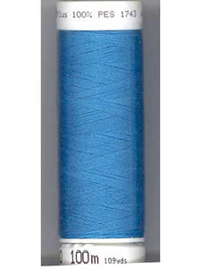 Mettler Metrosene Polyester Thread, Color #0022 (814) Wave Blue