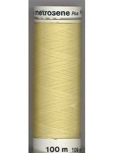 Mettler Metrosene Polyester Thread 500m, Color #1412 (502) Lemon Frost