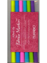 Fabrico Markers Set, Gemstones Package, 6 Pens