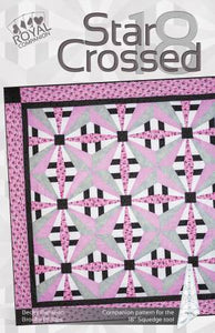 Star Crossed 18 Pattern, Companion Pattern For The 18 Degree Squedge Tool by Phillips Fiber Art