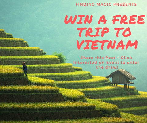 Peter Paxx - Finding Magic - WIN A TRIP TO VIETNAM
