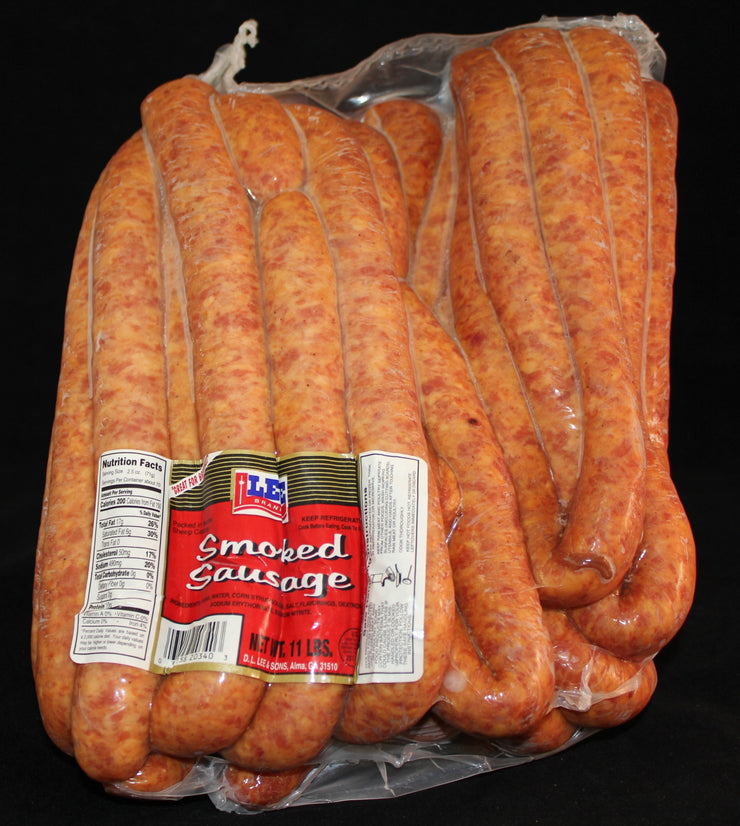00213 - Lee HC Smoked Sausage 11#