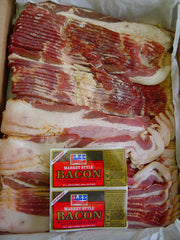 00710 - Lee Smoked Derind Bacon 30# Bulk