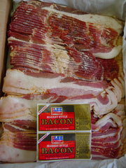 00731 - Lee Smoked Derind Bacon 15# Bulk