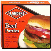 00828 - Flanders Hamburger Patties 8/5#
