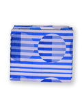 Fabric Stripe Circle Blue