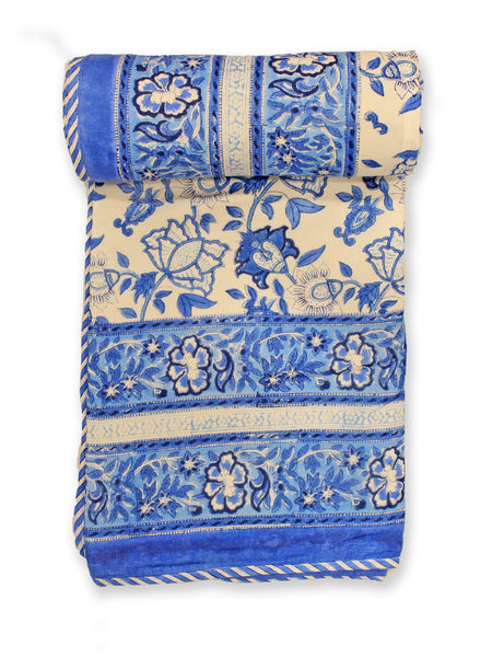 Dohar Blue Big Floral