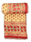 Quilt Chattha Jaal Red