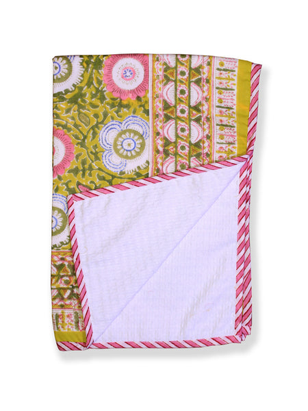 Printed Cotton Bath Towel