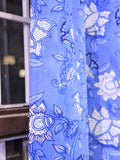Curtain Blue Flower Gad