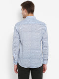 Men Shirt Blue Booti