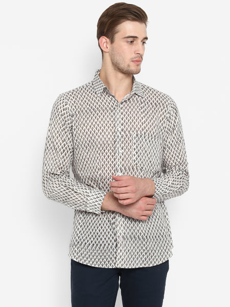 Men Shirt Grey Booti