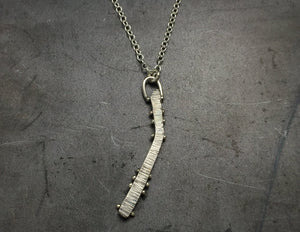 Pinned Medium Askew Necklace