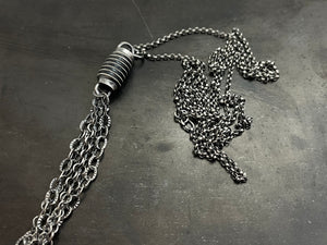 Bolt Chandelier necklace