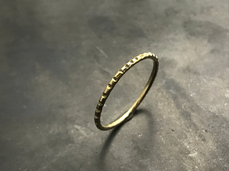 Stacking Ring III - 18k Yellow Gold
