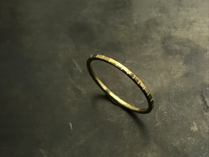 Stacking Ring II - 18k Yellow Gold