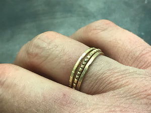 Stacking Ring I - 18k Yellow Gold