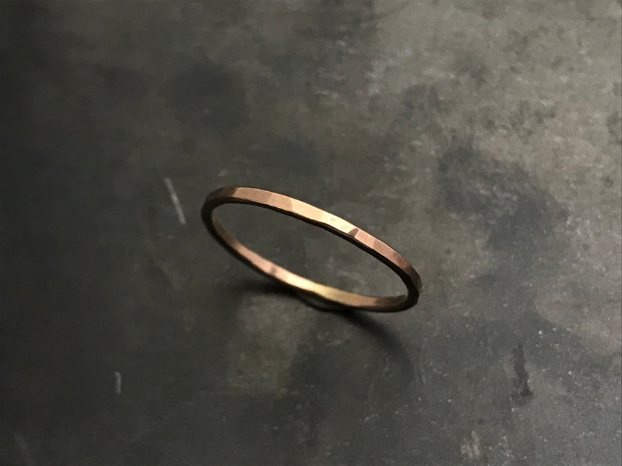 Stacking Ring I - 14k Rose Gold