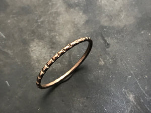 Stacking Ring III - 14k Rose Gold