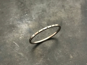 Stacking Ring II - Sterling Silver