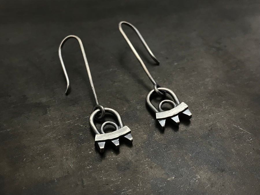 Double Rise Earrings