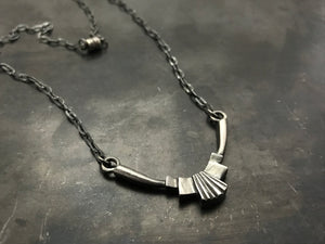 Architectural Horizontal Necklace