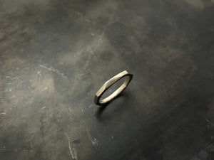 Architectural Stacking Ring I - sterling