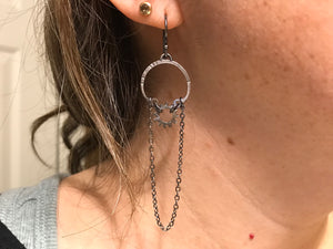 Clutch and Grace Chandelier Earrings single
