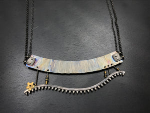 Tumbling Beneath the Sky Necklace