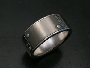 Titanium Rivets and Grooves Band 3