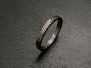 Titanium Linear Stacking Band