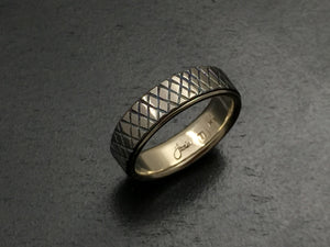 Titanium Tread Band