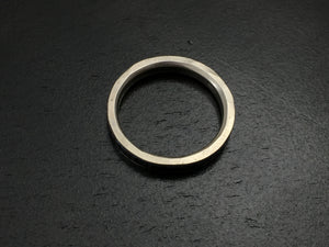 Titanium Linear Band with liner