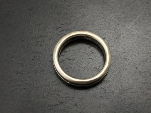 Titanium Thin Hammered Band