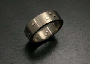 Titanium Rivets Band