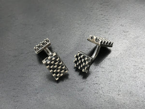 Cinco Grid Cufflinks