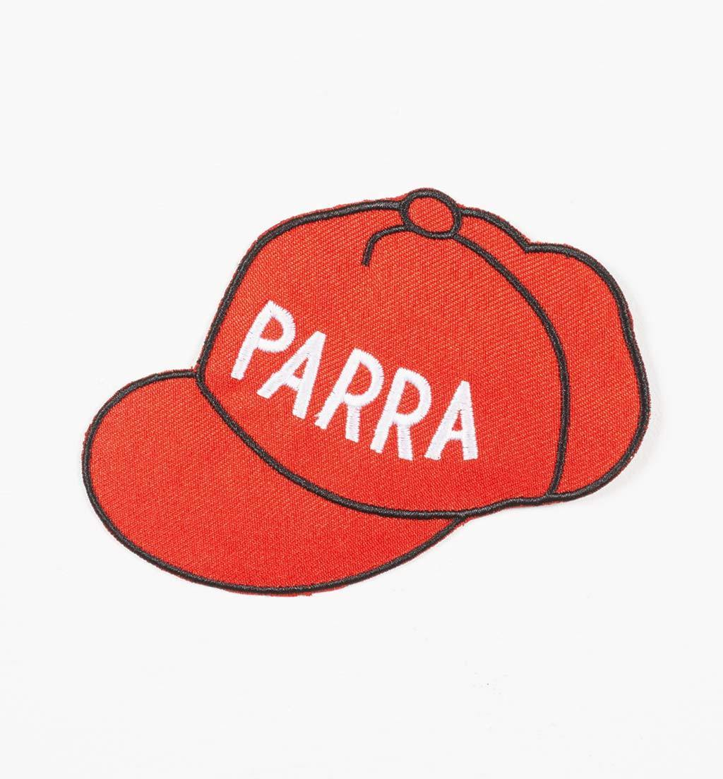 Parra - red hat embroidered patch