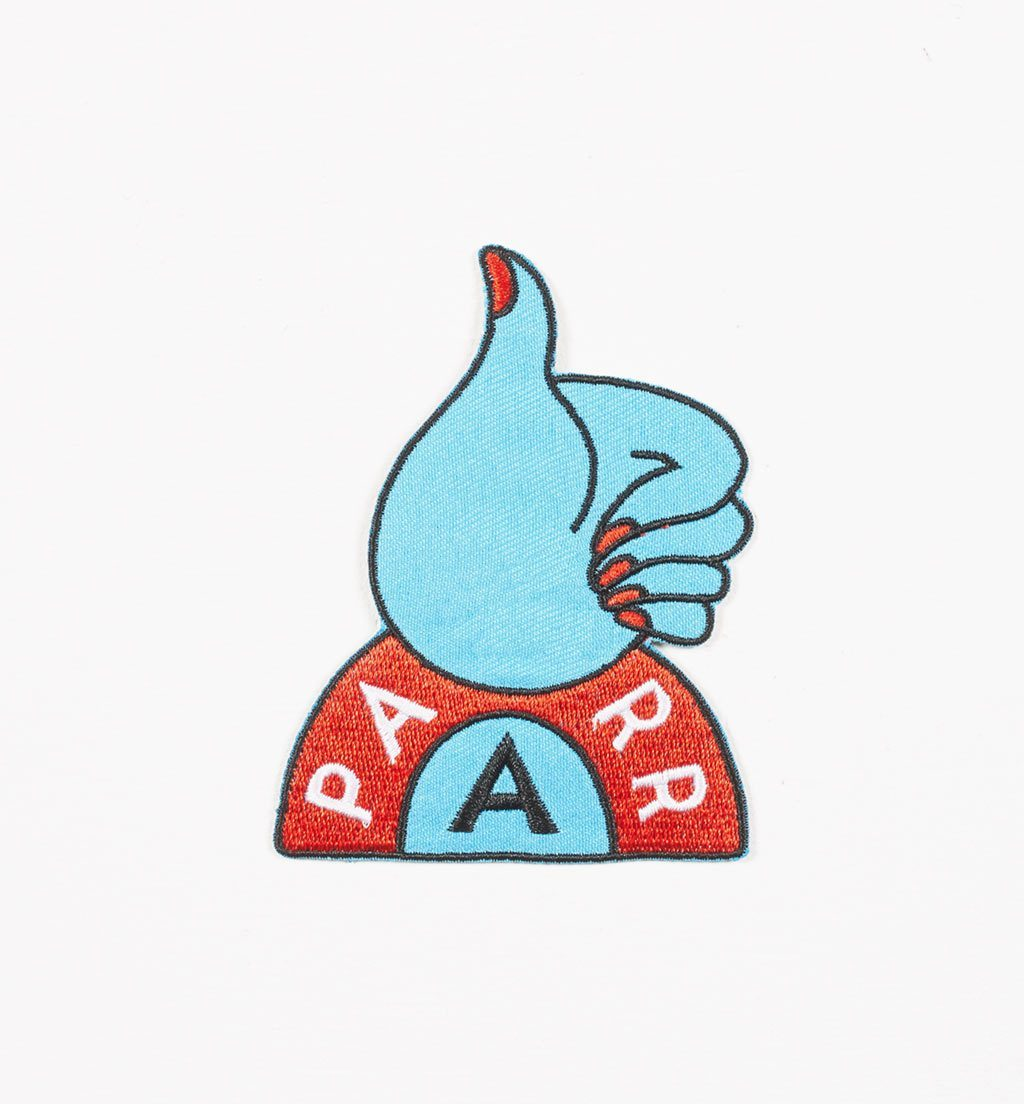Parra - thumbs up embroidered patch
