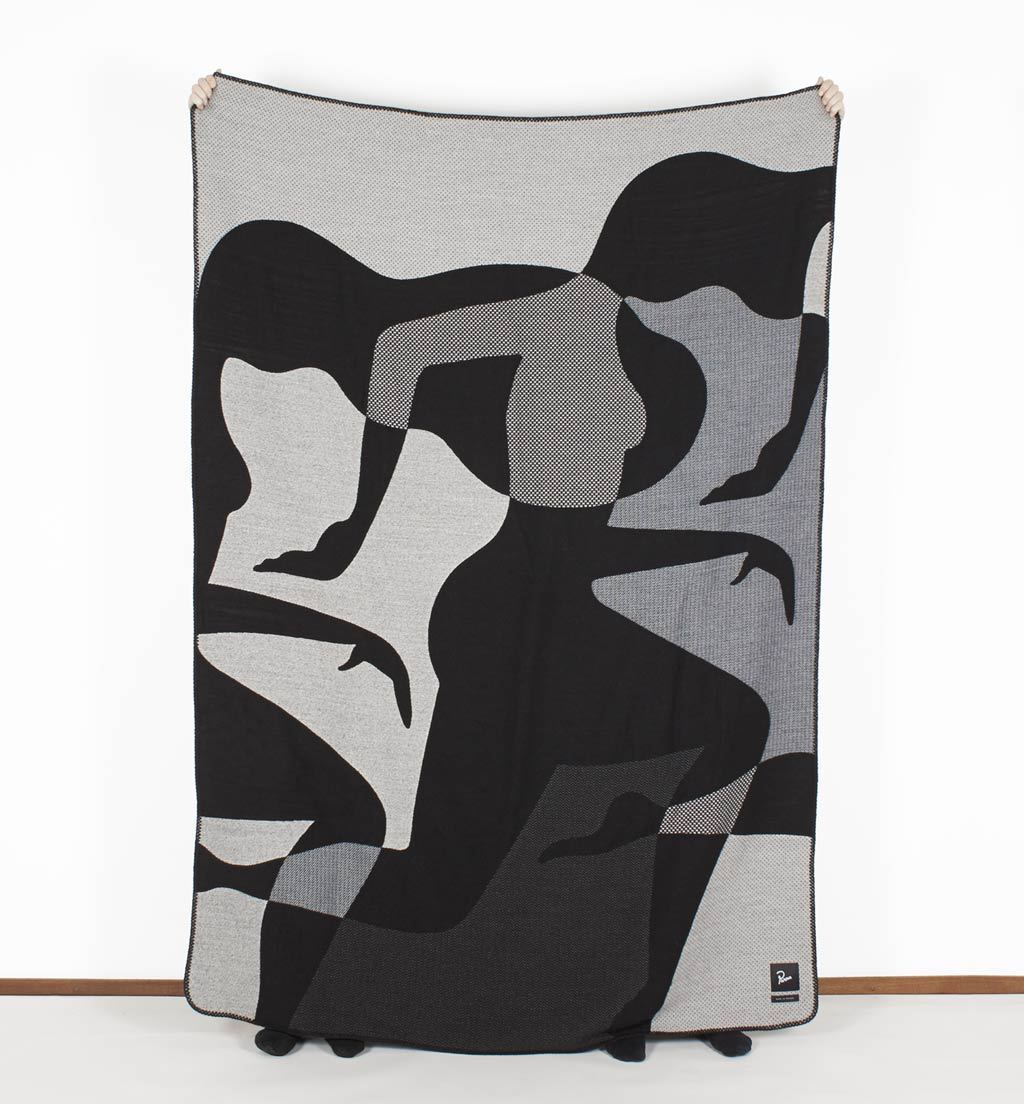 Parra - leave throw blanket