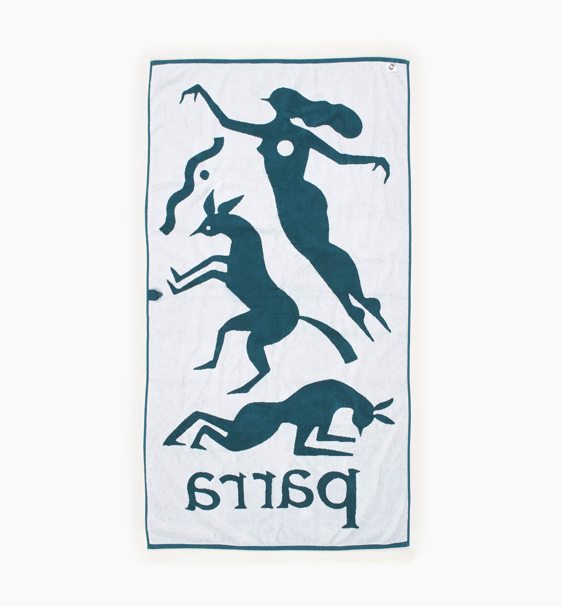 Parra - workout woman horse beach towel