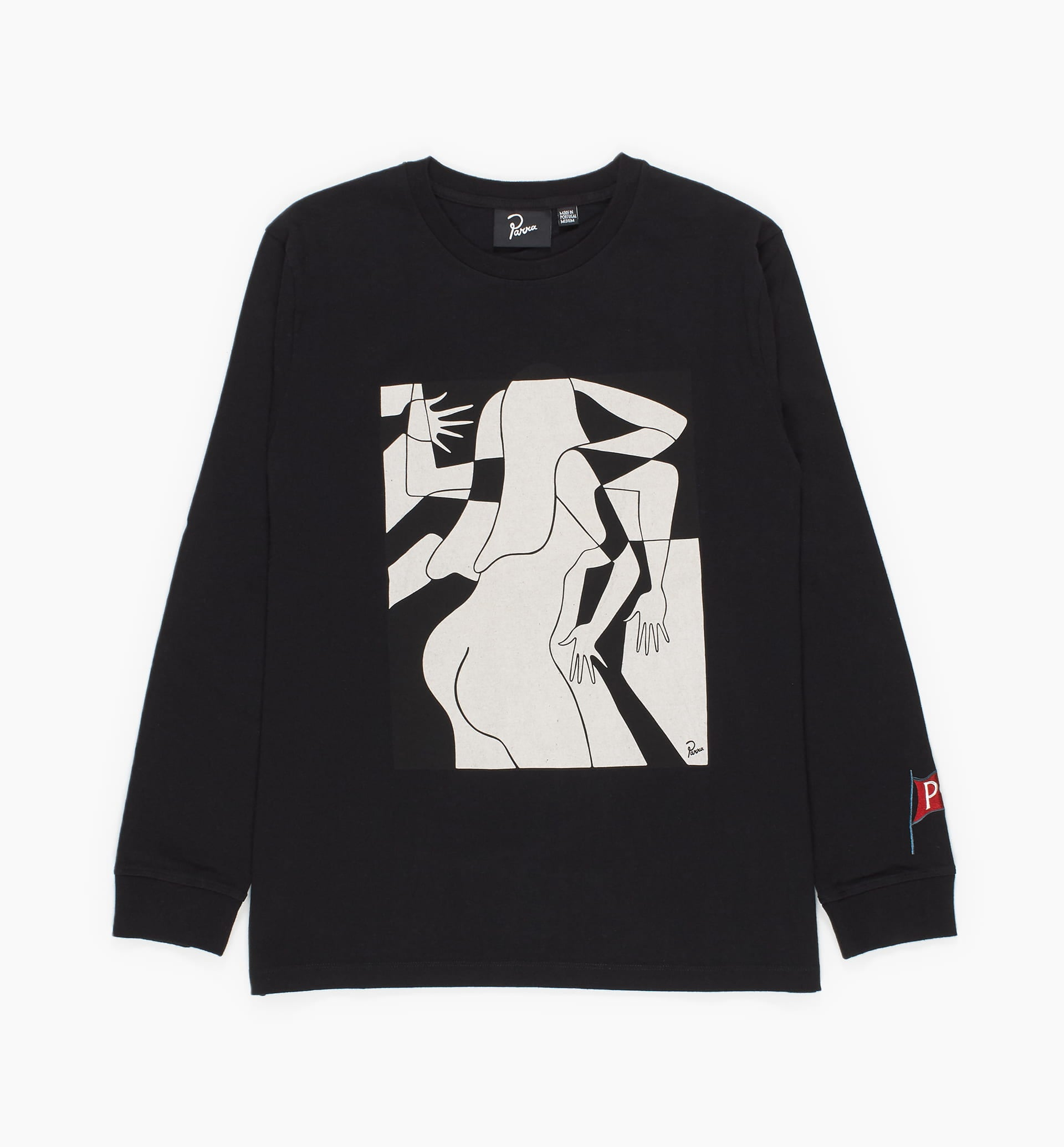 Parra - artist businesswoman long sleeve t-shirt