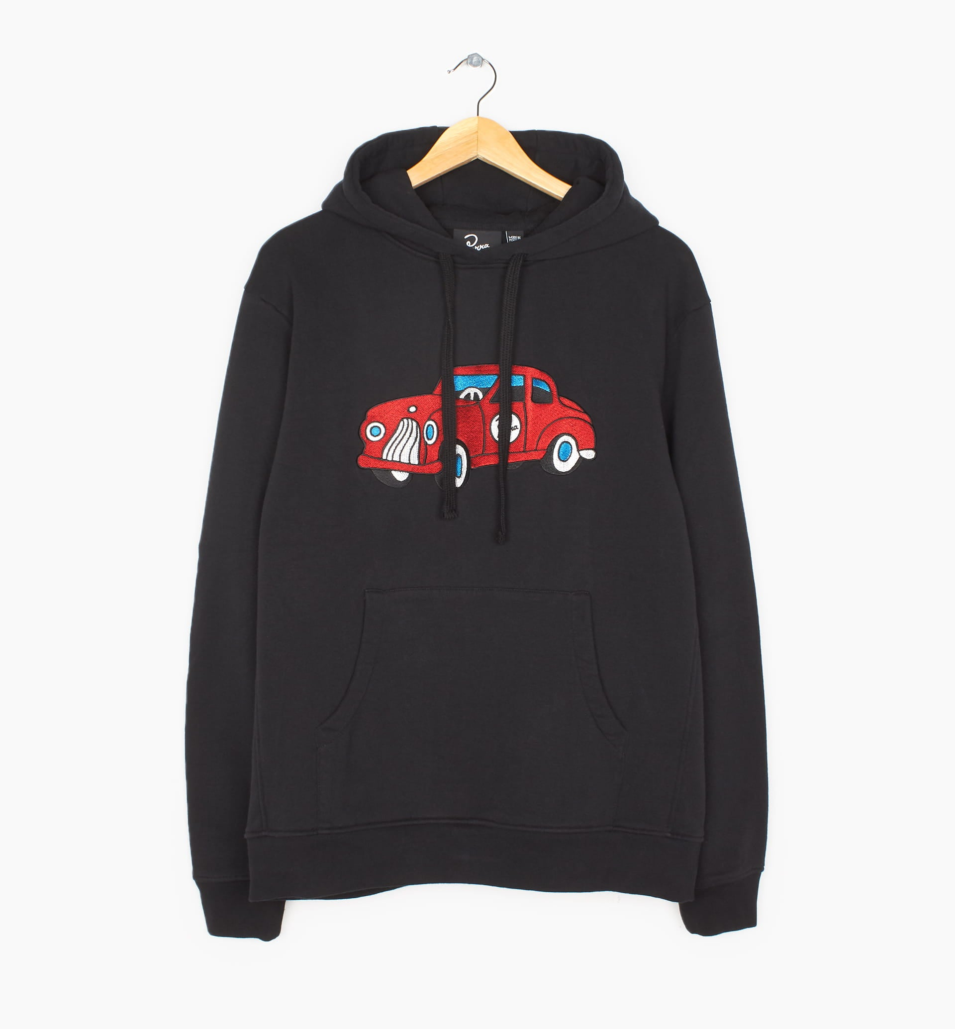 Parra - toy car hooded sweatshirt