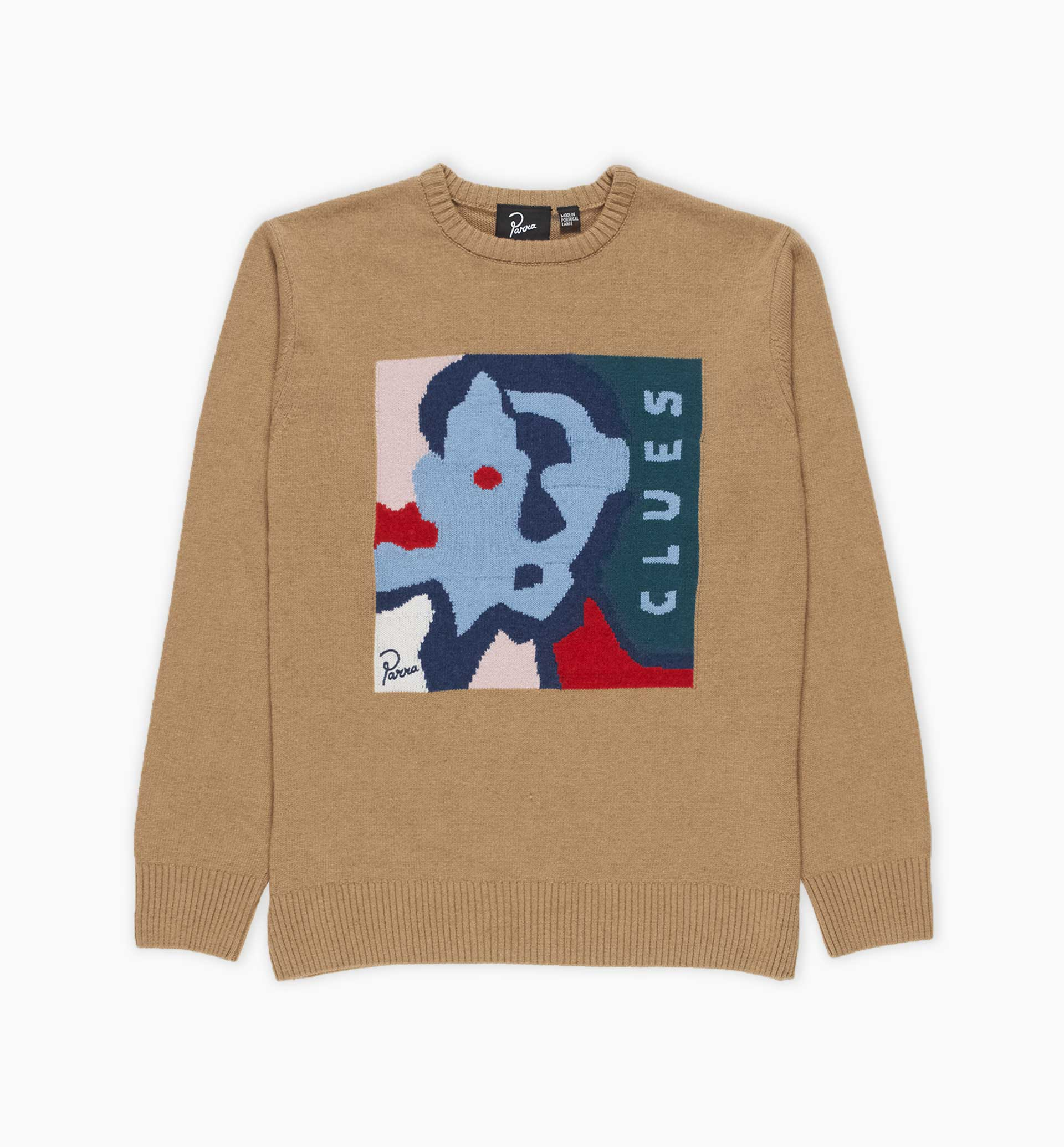 Parra - clues knitted pullover
