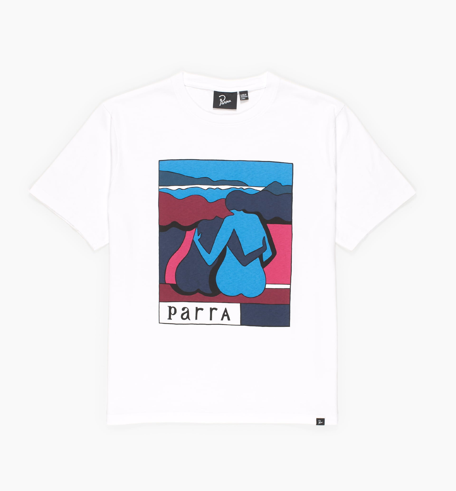 Parra - the riverbench t-shirt